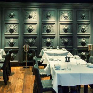Decorative Molding In Restaurant